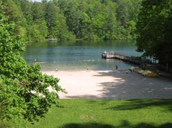 Smith Lake At Unicoi State Park