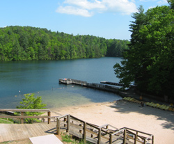 Smith lake at unicoi state park for Georgia out of state fishing license